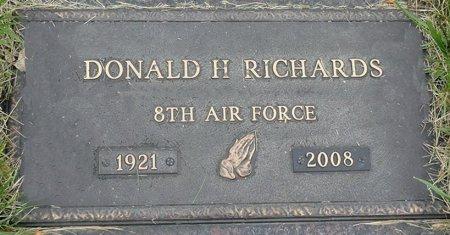 RICHARDS, DONALD H. - Black Hawk County, Iowa   DONALD H. RICHARDS