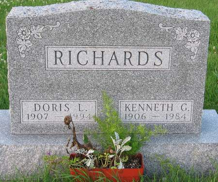 RICHARDS, DORIS L. - Black Hawk County, Iowa | DORIS L. RICHARDS