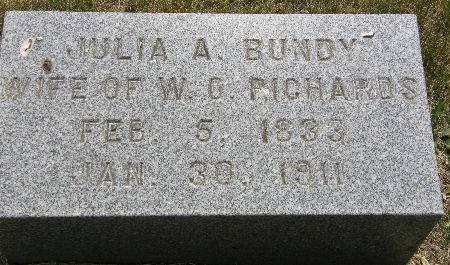 RICHARDS, JULIA A. - Black Hawk County, Iowa | JULIA A. RICHARDS