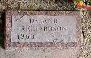 RICHARDSON, DELAND - Black Hawk County, Iowa | DELAND RICHARDSON