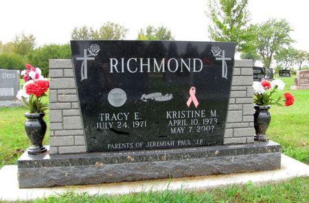 RICHMOND, KRISTINE M. - Black Hawk County, Iowa   KRISTINE M. RICHMOND