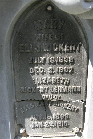 LEHMANN, ELIZABETH - Black Hawk County, Iowa | ELIZABETH LEHMANN