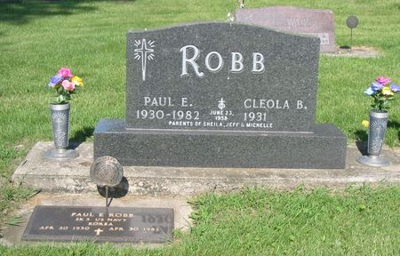 ROBB, PAUL E. - Black Hawk County, Iowa | PAUL E. ROBB