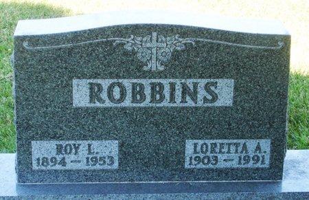 ROBBINS, LORETTA A. - Black Hawk County, Iowa | LORETTA A. ROBBINS