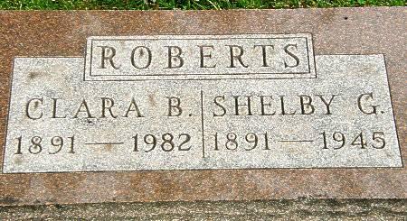 ROBERTS, CLARA B. - Black Hawk County, Iowa | CLARA B. ROBERTS