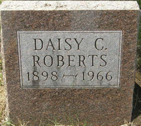 ROBERTS, DAISY C. - Black Hawk County, Iowa   DAISY C. ROBERTS