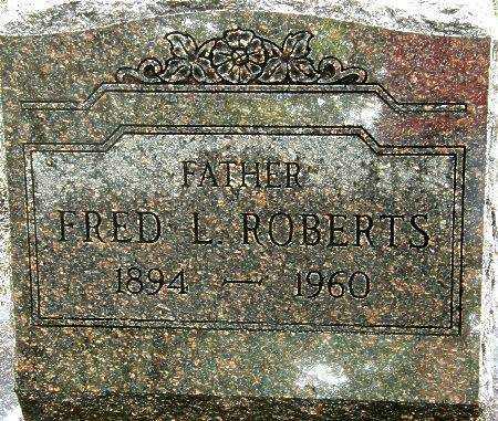 ROBERTS, FRED L. - Black Hawk County, Iowa | FRED L. ROBERTS