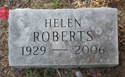 ROBERTS, HELEN - Black Hawk County, Iowa   HELEN ROBERTS