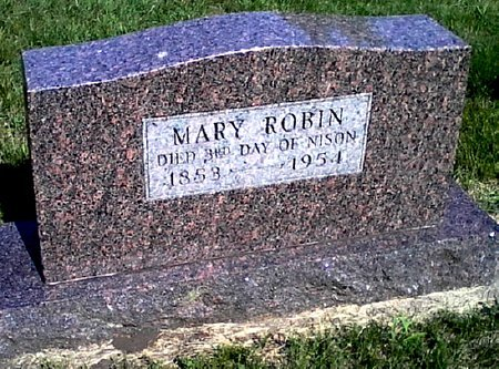 ROBIN, MARY - Black Hawk County, Iowa | MARY ROBIN