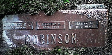 ROBINSON, VIOLET F. - Black Hawk County, Iowa | VIOLET F. ROBINSON