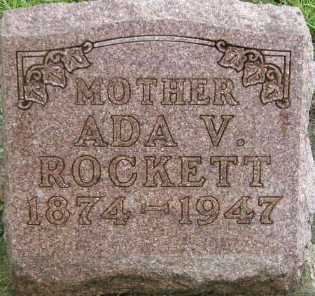 ROCKETT, ADA V. - Black Hawk County, Iowa | ADA V. ROCKETT