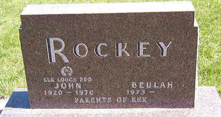 ROCKEY, JOHN - Black Hawk County, Iowa   JOHN ROCKEY