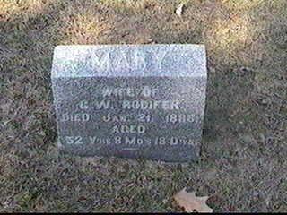 RODIFER, MARY - Black Hawk County, Iowa | MARY RODIFER