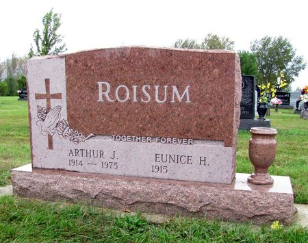 ROISUM, ARTHUR J. - Black Hawk County, Iowa | ARTHUR J. ROISUM