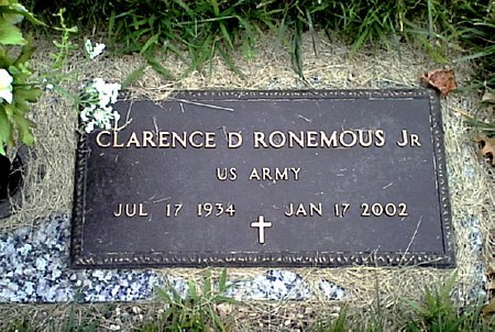 RONEMOUS, CLARENCE D. - Black Hawk County, Iowa | CLARENCE D. RONEMOUS