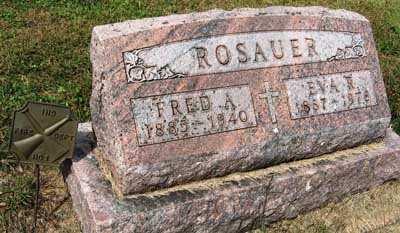 ROSAUER, EVA R. - Black Hawk County, Iowa   EVA R. ROSAUER