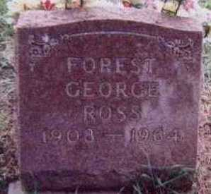 ROSS, FOREST GEORGE - Black Hawk County, Iowa | FOREST GEORGE ROSS