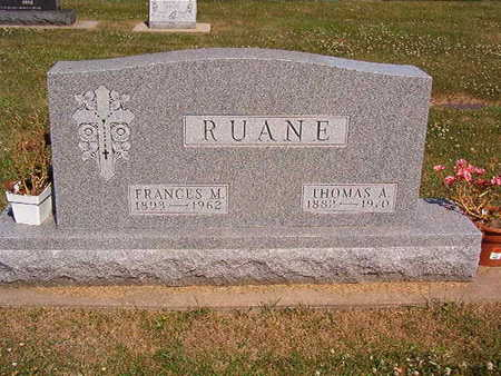 RUANE, FRANCES C. - Black Hawk County, Iowa | FRANCES C. RUANE
