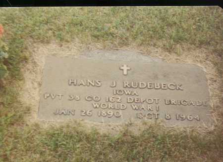 RUDEBECK, HANS JACOB - Black Hawk County, Iowa | HANS JACOB RUDEBECK