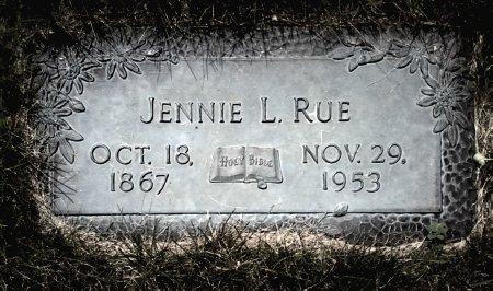 RUE, JENNIE L. - Black Hawk County, Iowa | JENNIE L. RUE