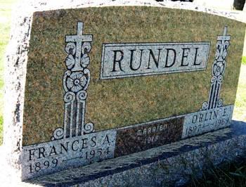 RUNDEL, FRANCES A. - Black Hawk County, Iowa | FRANCES A. RUNDEL