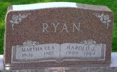 RYAN, MARTHA ULA - Black Hawk County, Iowa | MARTHA ULA RYAN
