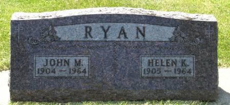 RYAN, HELEN K. - Black Hawk County, Iowa | HELEN K. RYAN