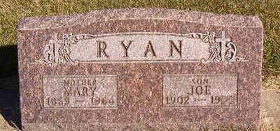 RYAN, MARY - Black Hawk County, Iowa | MARY RYAN