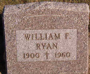 RYAN, WILLIAM F. - Black Hawk County, Iowa | WILLIAM F. RYAN