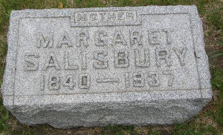 SALISBURY, MARGARET - Black Hawk County, Iowa | MARGARET SALISBURY