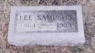 SAMPSON, LEE - Black Hawk County, Iowa | LEE SAMPSON