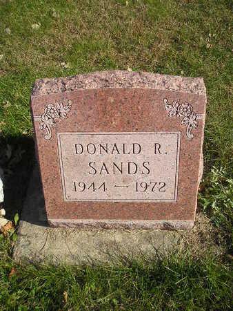 SANDS, DONALD R - Black Hawk County, Iowa | DONALD R SANDS