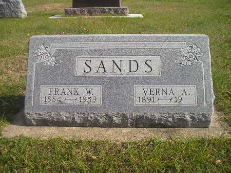 SANDS, FRANK W - Black Hawk County, Iowa | FRANK W SANDS