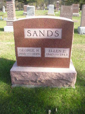 SANDS, GEORGE R - Black Hawk County, Iowa | GEORGE R SANDS