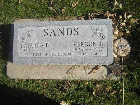SANDS, VERNON G - Black Hawk County, Iowa   VERNON G SANDS