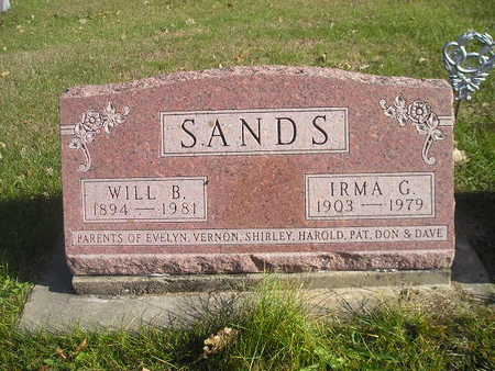 SANDS, IRMA G - Black Hawk County, Iowa | IRMA G SANDS