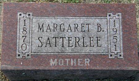 SATTERLEE, MARGARET B. - Black Hawk County, Iowa | MARGARET B. SATTERLEE