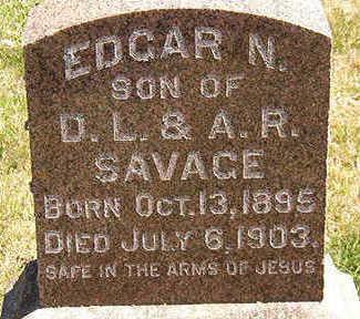 SAVAGE, EDGAR N. - Black Hawk County, Iowa | EDGAR N. SAVAGE