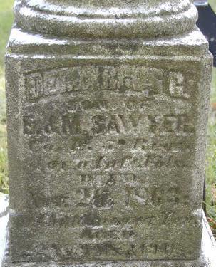 SAWYER, DEMARCUS G. - Black Hawk County, Iowa   DEMARCUS G. SAWYER