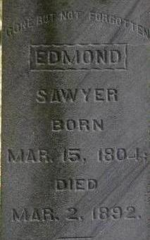 SAWYER, EDMOND - Black Hawk County, Iowa | EDMOND SAWYER