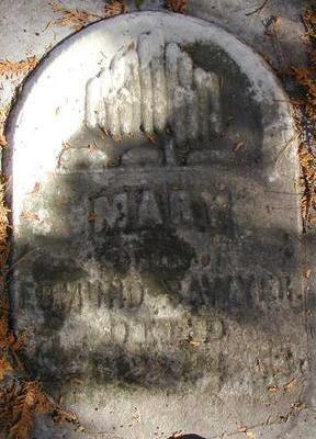 SAWYER, MARY - Black Hawk County, Iowa | MARY SAWYER