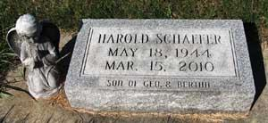 SCHAEFER, HAROLD PHILLIP - Black Hawk County, Iowa | HAROLD PHILLIP SCHAEFER