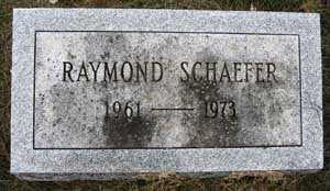 SCHAEFER, RAYMOND - Black Hawk County, Iowa | RAYMOND SCHAEFER