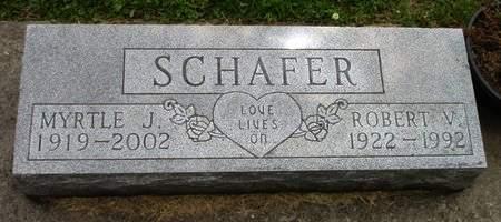 SCHAFER, MYRTLE J. - Black Hawk County, Iowa | MYRTLE J. SCHAFER