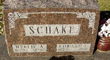 SCHAKE, NELLIE A. - Black Hawk County, Iowa | NELLIE A. SCHAKE