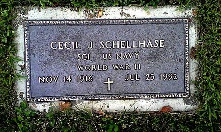 SCHELLHASE, CECIL J. - Black Hawk County, Iowa | CECIL J. SCHELLHASE