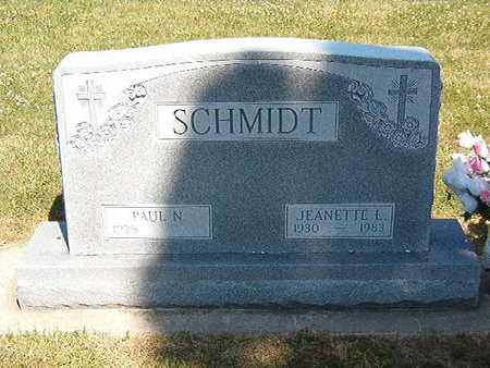 SCHMIDT, JEANETTE L. - Black Hawk County, Iowa | JEANETTE L. SCHMIDT