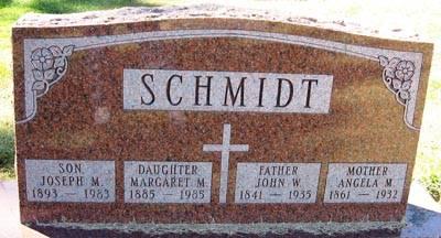 SCHMIDT, ANGELA M. - Black Hawk County, Iowa | ANGELA M. SCHMIDT