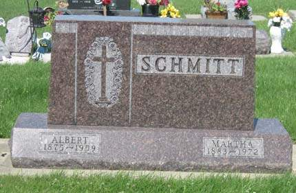 SCHMITT, ALBERT - Black Hawk County, Iowa | ALBERT SCHMITT