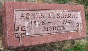 SCHMITZ, AGNES M. - Black Hawk County, Iowa | AGNES M. SCHMITZ